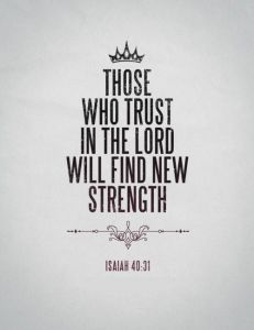 trust in lord